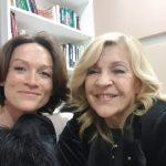 Nicoletta avec Delphine